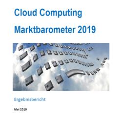 Cloud Computing Marktbarometer Deutschland 2019 Ergebnisse